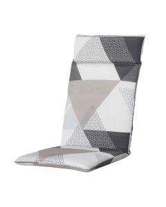 Kussen hoog 50x120 universeel Triangle grey