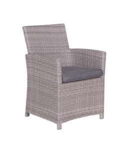 Jaru lounge dining stoel - grijs