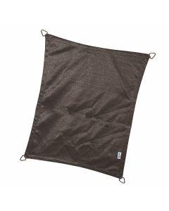 Nesling Coolfit schaduwdoek rechthoek 3-0x4-0x3-0x4-0 m - Antraciet Polyester