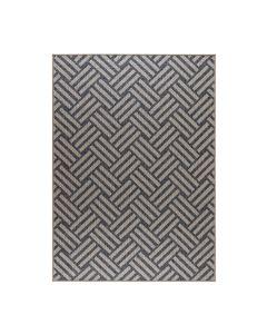 Buitenkleed Kreta grijs - 120x170 cm