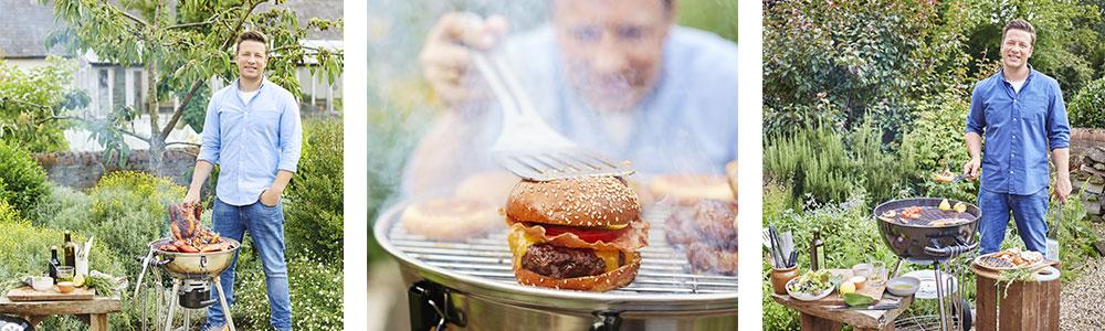 Nieuw: Jamie Oliver barbecues